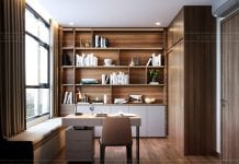 thiết kế căn hộ de capella - phòng làm việc 2