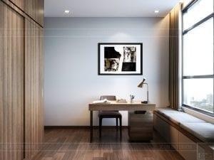 thiết kế căn hộ de capella - phòng làm việc 3