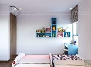 thiết kế căn hộ de capella - phòng ngủ trẻ em 3