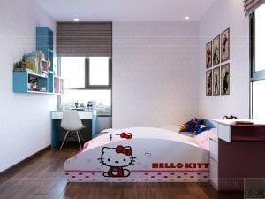 thiết kế căn hộ de capella - phòng ngủ trẻ em 1
