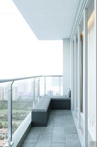 thiết kế nội thất sarica sala - ban công