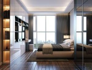 thiết kế nội thất sarica sala - phòng ngủ 1