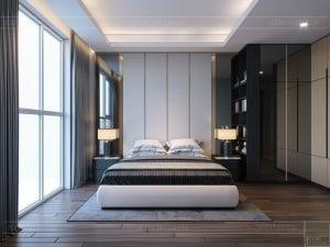 thiết kế nội thất sarica sala - phòng ngủ 2