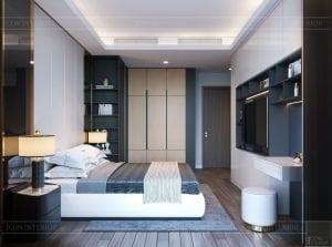 thiết kế nội thất sarica sala - phòng ngủ 3
