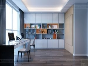 thiết kế nội thất sarica sala - phòng làm việc 1
