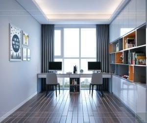 thiết kế nội thất sarica sala - phòng làm việc 2