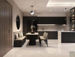 thiết kế nội thất sarica sala - phòng ăn 1