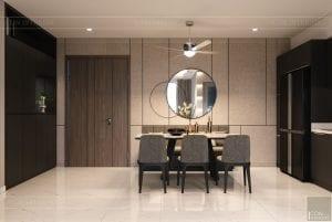 thiết kế nội thất sarica sala - phòng ăn 2