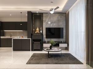 thiết kế nội thất sarica sala - phòng khách 1