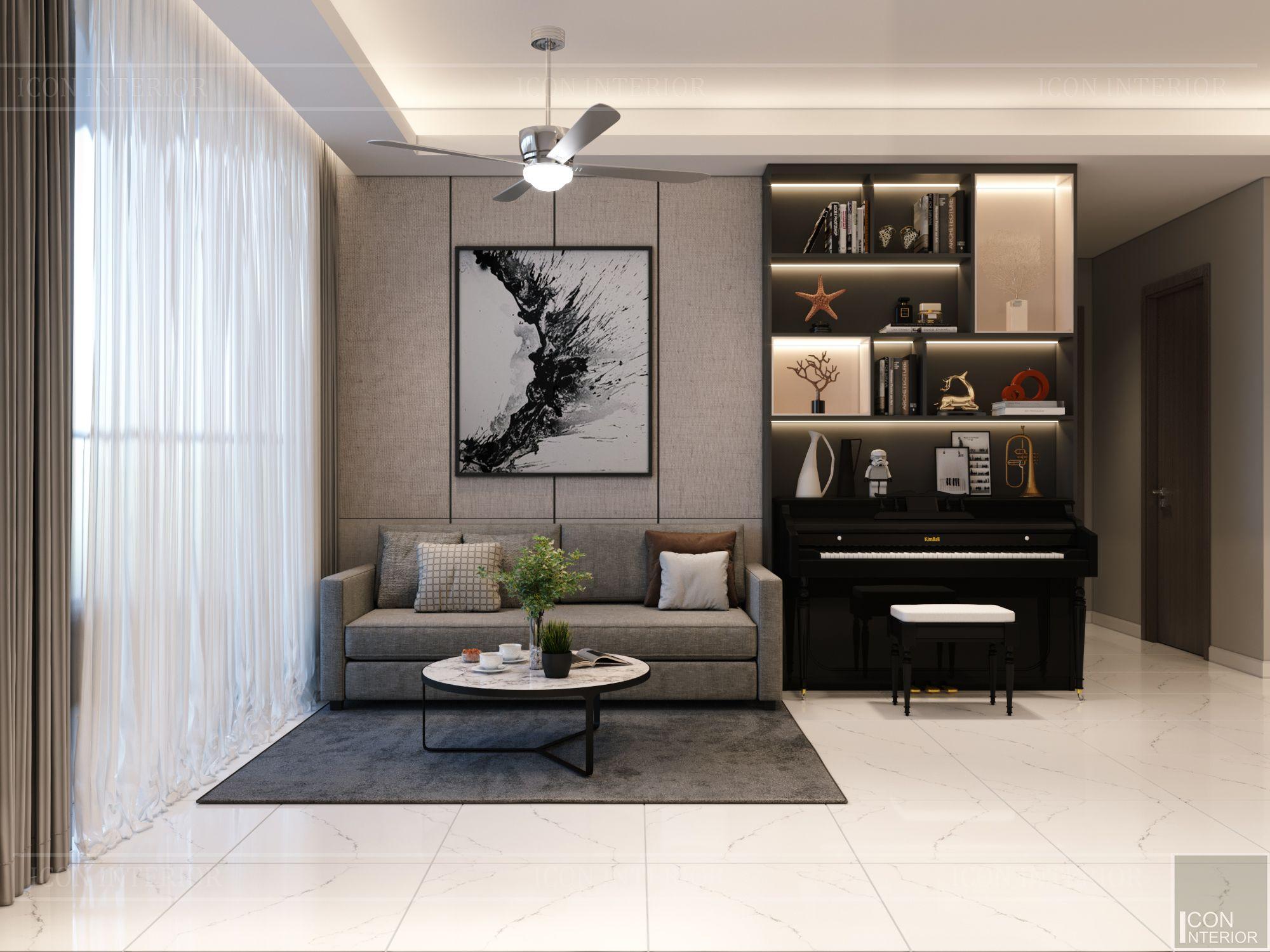 thiết kế nội thất sarica sala - phòng khách 2