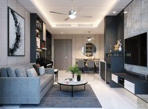 thiết kế nội thất sarica sala - phòng khách 3