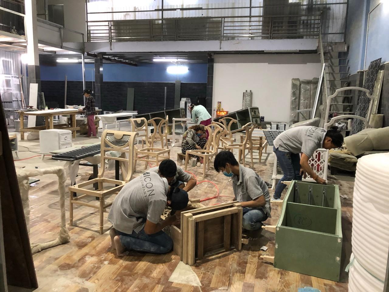 xưởng sản xuất ICON