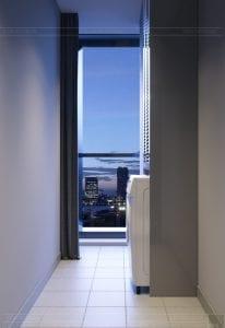 thiết kế căn hộ chung cư landmark 81 - sân phơi 1