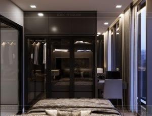 thiết kế căn hộ chung cư landmark 81 - phòng ngủ 3