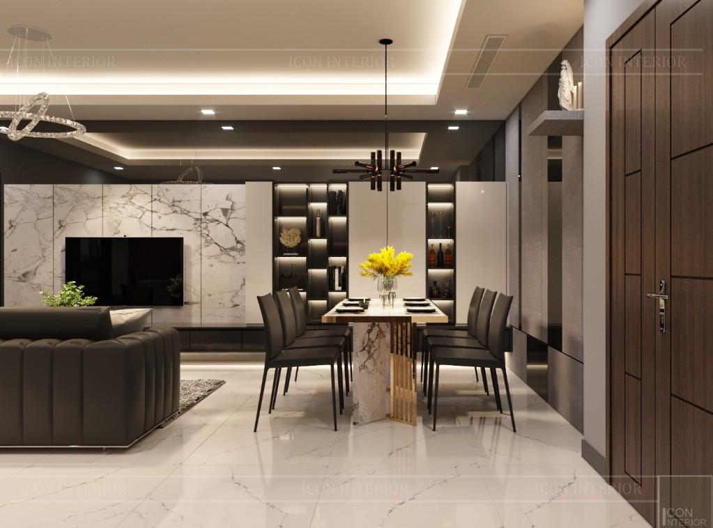 thiết kế chung cư 80m2 landmark 81