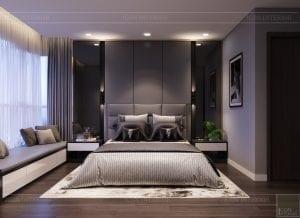 căn hộ estella heights - phòng ngủ ngủ master 1