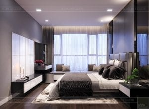 căn hộ estella heights - phòng ngủ ngủ master 2