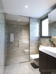 chung cư estella heights quận 2 - phòng tắm 1