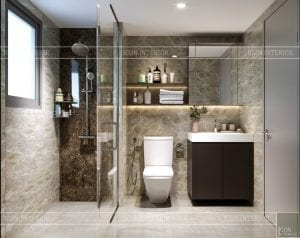 chung cư estella heights quận 2 - phòng tắm master 1