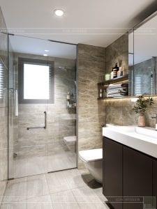 chung cư estella heights quận 2 - phòng tắm master 2