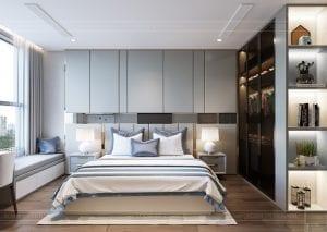 thiết kế nội thất hiện đại - phòng ngủ bé 1