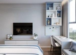 thiết kế nội thất hiện đại - phòng ngủ bé 2