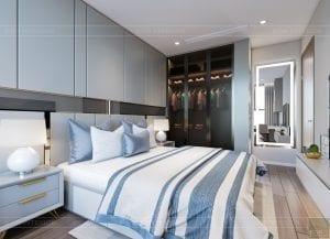 thiết kế nội thất hiện đại - phòng ngủ bé 4