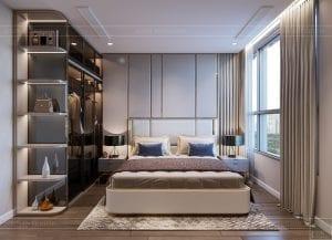 thiết kế nội thất hiện đại - phòng master 2