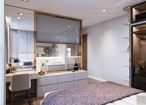 thiết kế nội thất hiện đại - phòng master 5