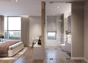 thiết kế nội thất hiện đại - phòng master 3