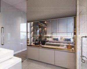 thiết kế nội thất hiện đại - phòng master 4