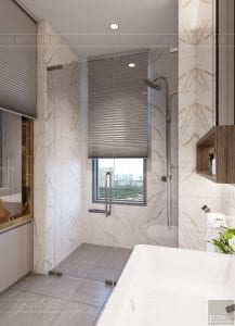 thiết kế nội thất hiện đại - phòng master 6