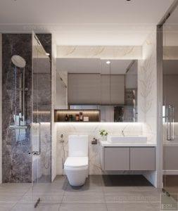 thiết kế nội thất hiện đại - phòng master 7