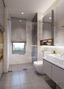 thiết kế nội thất hiện đại - phòng master 8