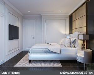 phong cách nội thất tân cổ điển pháp - phòng ngủ master 4