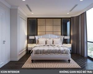 phong cách nội thất tân cổ điển pháp - phòng ngủ master 3