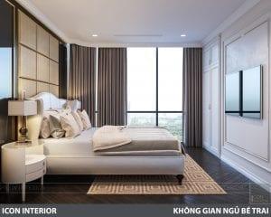 phong cách nội thất tân cổ điển pháp - phòng ngủ master 2