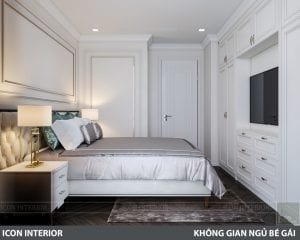 phong cách nội thất tân cổ điển pháp - phòng ngủ 3