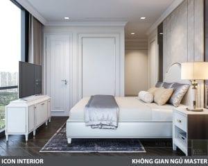 phong cách nội thất tân cổ điển pháp - phòng ngủ nhỏ 3