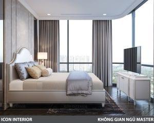 phong cách nội thất tân cổ điển pháp - phòng ngủ nhỏ 1