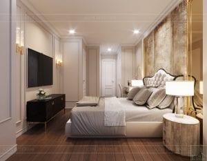 thiết kế sky villa landmark 81 - phòng ngủ master 5