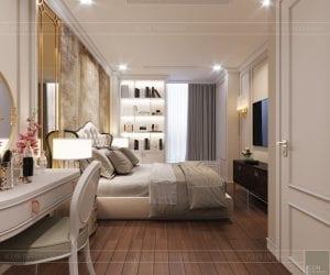 thiết kế sky villa landmark 81 - phòng ngủ master 2