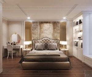 thiết kế sky villa landmark 81 - phòng ngủ master 4
