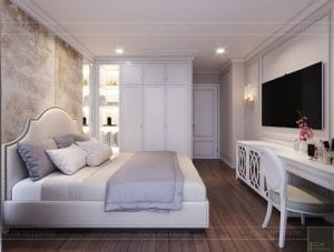thiết kế sky villa landmark 81 - phòng ngủ 3