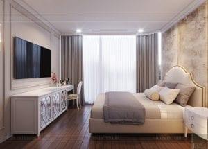 thiết kế sky villa landmark 81 - phòng ngủ 1
