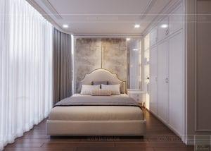 thiết kế sky villa landmark 81 - phòng ngủ 2