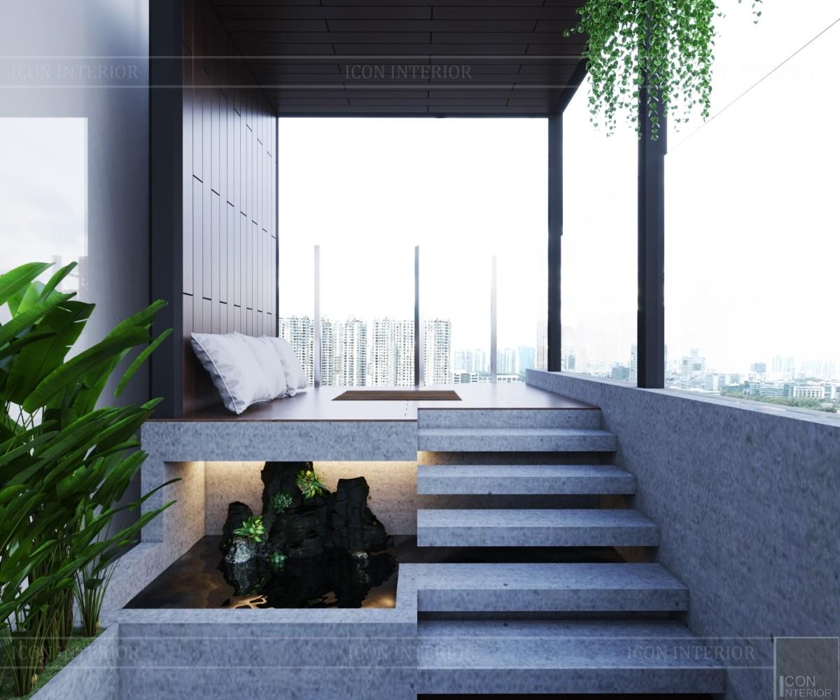 thiết kế sky villa landmark 81 - sân vườn 2