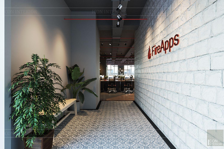 thiết kế nội thất văn phòng phong cách công nghiệp 1
