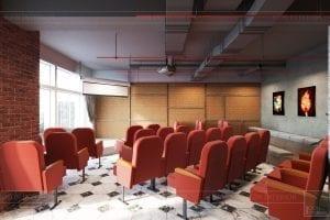 thiết kế nội thất văn phòng phong cách công nghiệp 11