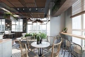 thiết kế nội thất văn phòng phong cách công nghiệp 16
